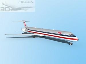 Falcon3D MD 80 TWA 2