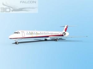 Falcon3D MD 80 TWA 3