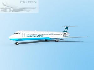 Falcon3D MD 80 Universal Charter