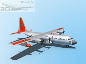 Falcon3D C130 Hercules USAF SAR