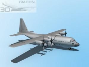 Falcon3D C130 Hercules Australian