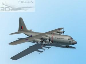 Falcon3D C130 Hercules Royal Air Force