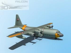 Falcon3D C130 Hercules Denmark