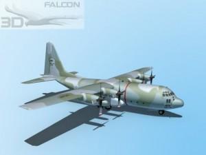 Falcon3D C130 Hercules USAF