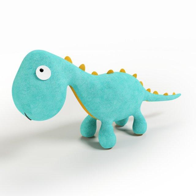 Dino Mascot 3D Model