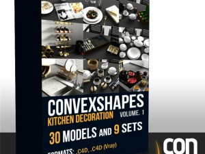 Convexshapes Kitchen Decoration Volume 1
