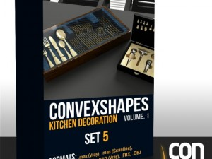 Convexshapes Kitchen DecorationsSet5