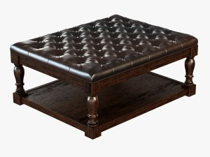 Alfred Coffee Table Leather
