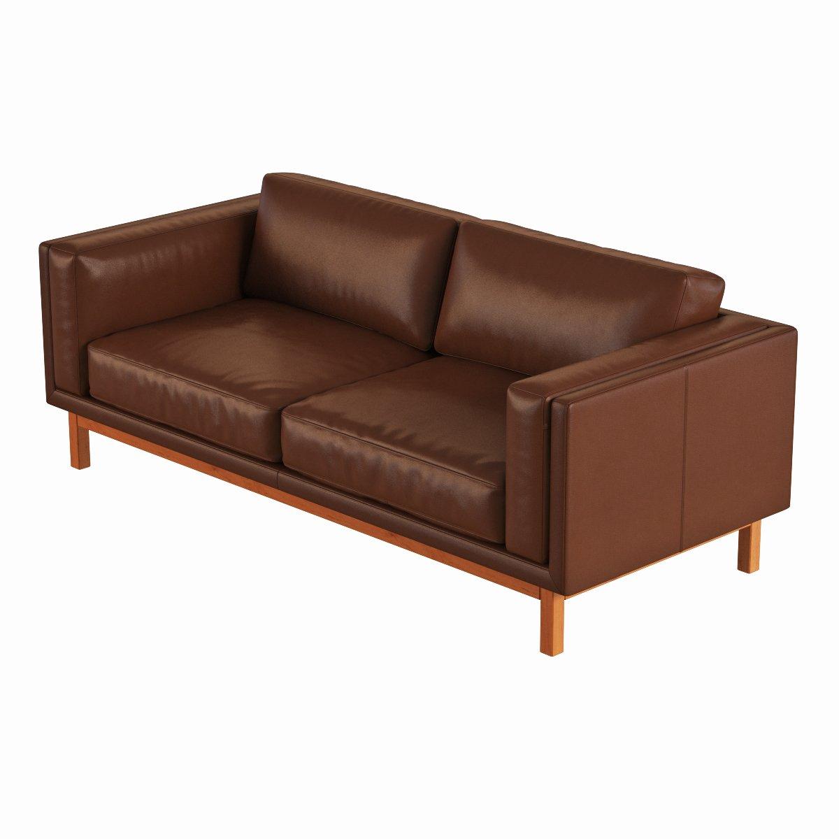 Dekalb Leather Sofa Remove Bookmark This Item