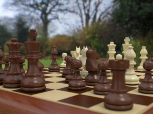 Chess Pieces  Chessboard  Wood