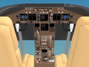 Cockpit Boeing 747 400