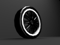 Simple Car Wheel
