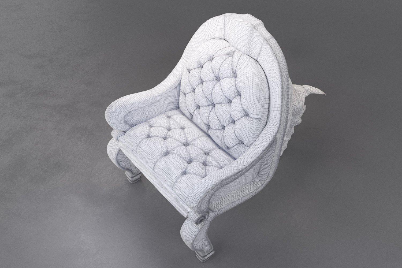 Rhino chair 3D Model in Chair 3DExport