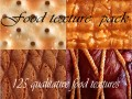 Seamless food textures pack 125 textures