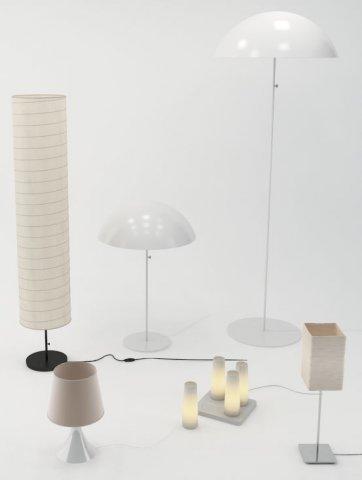 Ikea Lamps 3D Model