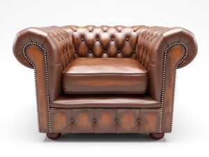 Chesterfield London Low Back Club ArmChair Antique