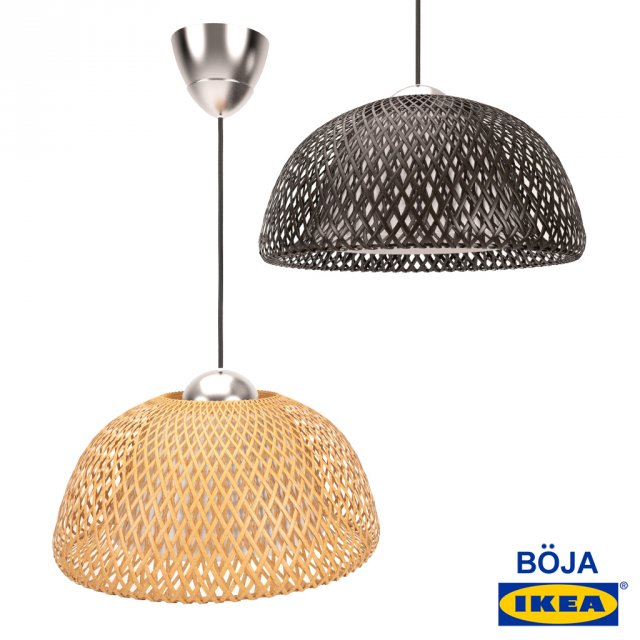 IKEA Boja pendant lamp 3D Model in Ceiling Lights 3DExport