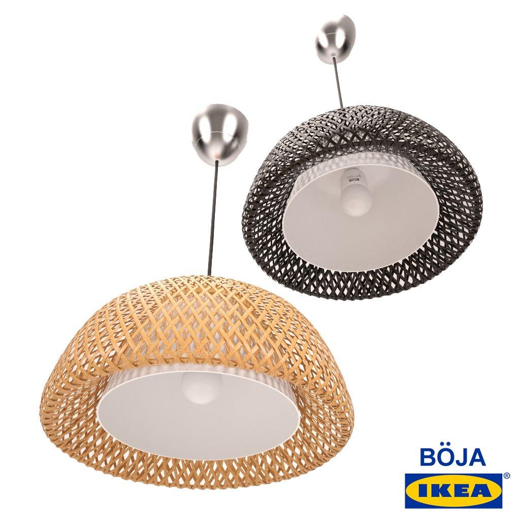 Lamp Ikea 3dexport Modèle In 3d Hdrcxtsq Plafonniers Pendant Boja BdoexC
