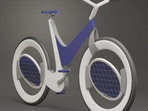Ele solar bike