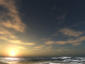 Classical Sunset Skybox