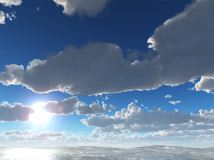 Cloudy Summer Day Skybox