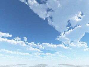 Cloudy Spring Day Skybox