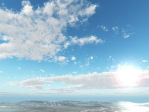 Cool Spring Day Skybox
