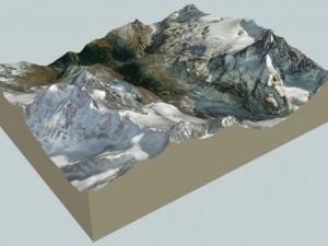 Zermatt and surroundings