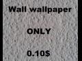Wall wallpaper white 010