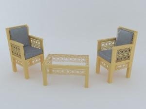 Arabesque furniture