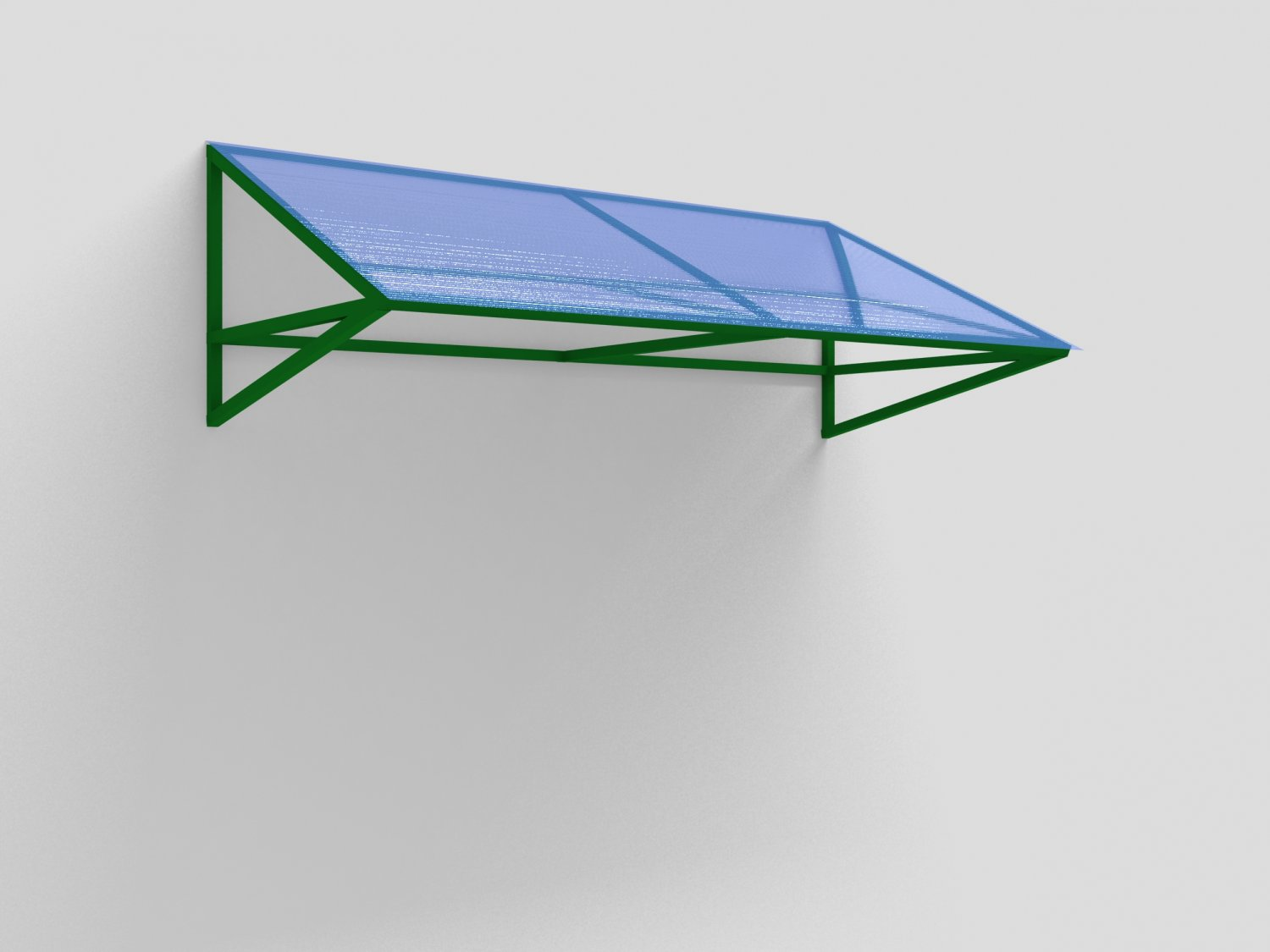 Canopy over the entrance 3D Model in Miscellaneous 3DExport