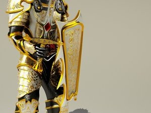 Knight  3ds MAX 2011