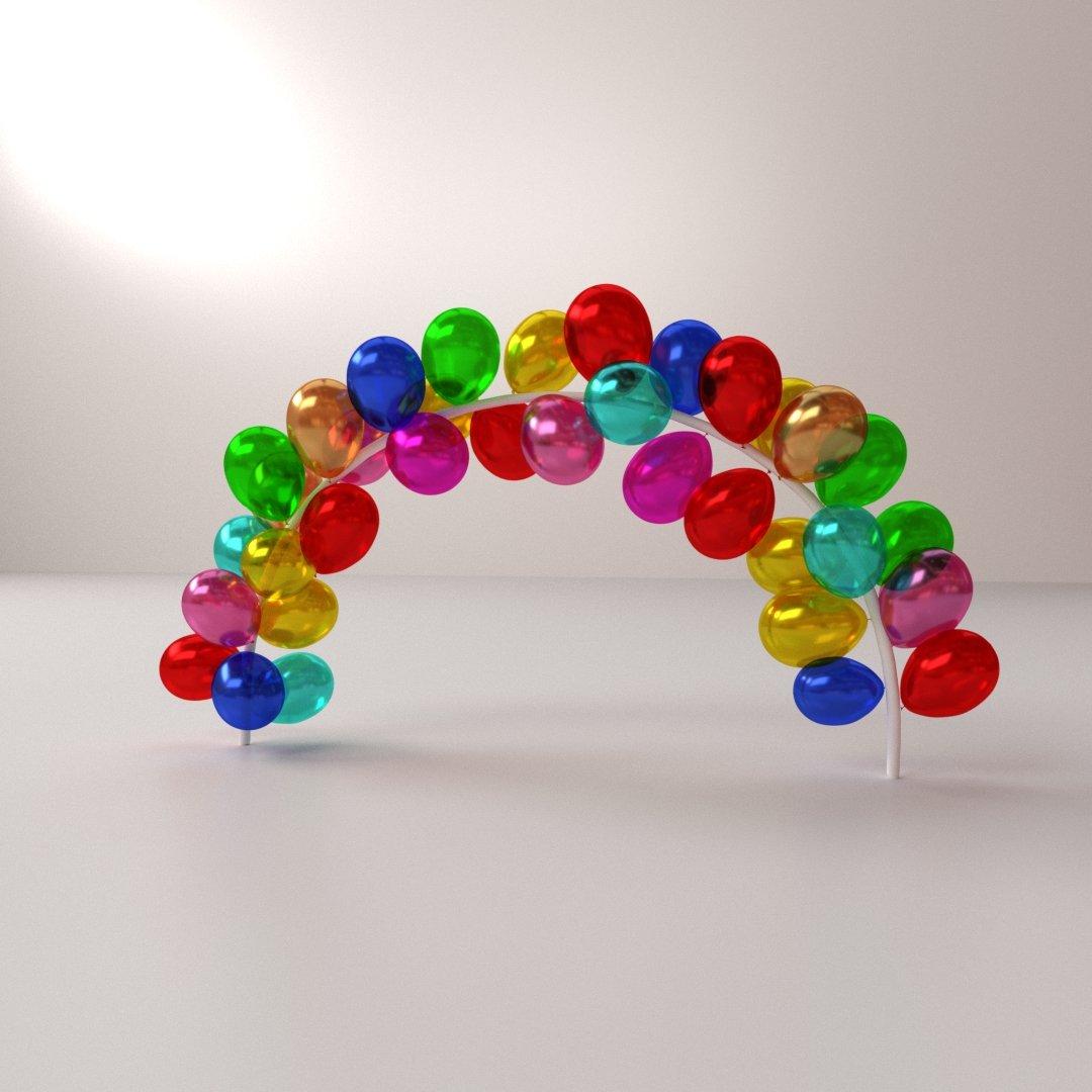 Balloon 3d Model | Best Home Decorating Ideas