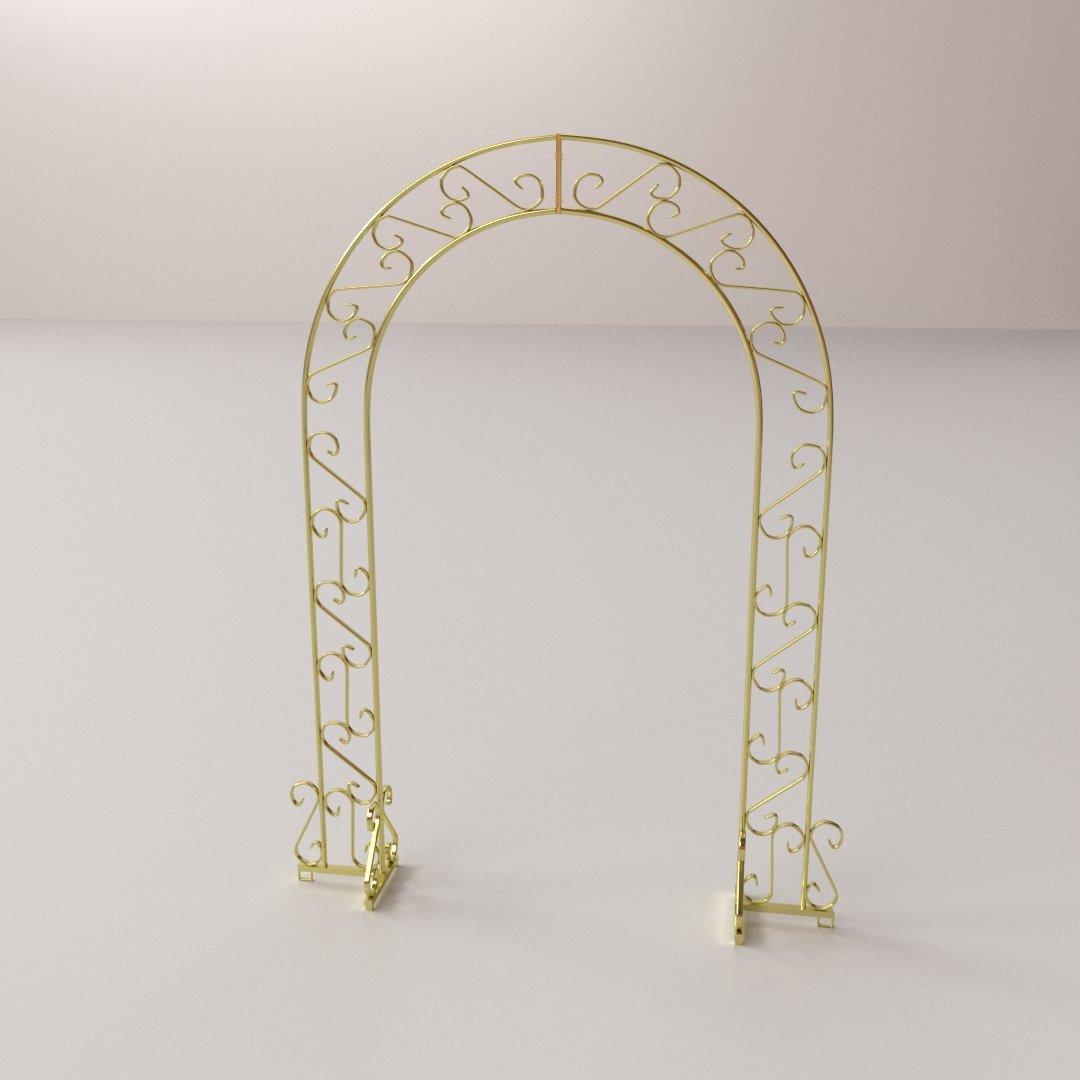 Wedding Arch 3D Model in Decoration 3DExport