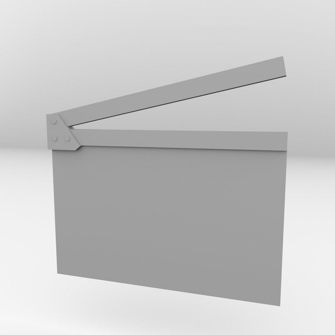 Solid Bronze Clapper Board Cufflinks