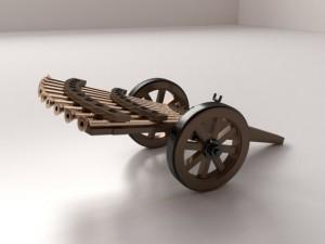 Da Vinci Machine Gun