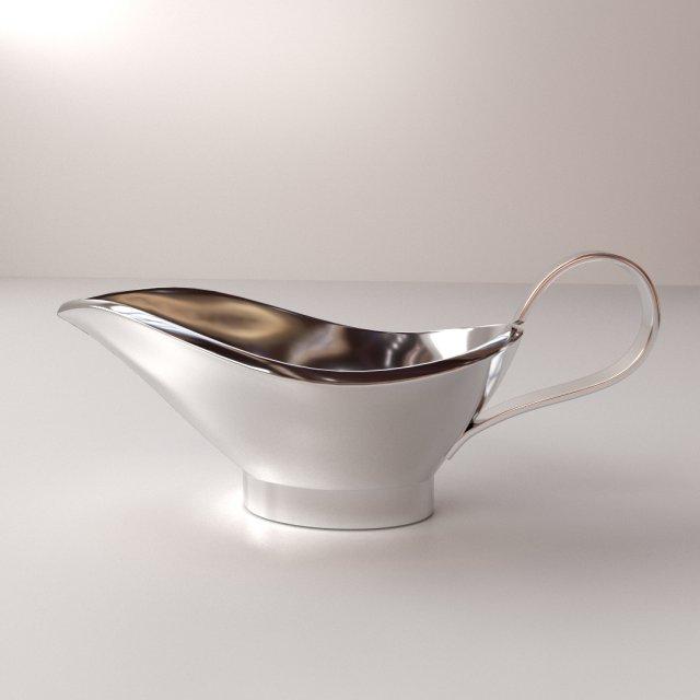 Sauce Boat 3D Model
