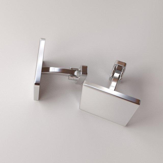 Cufflinks 3D Model