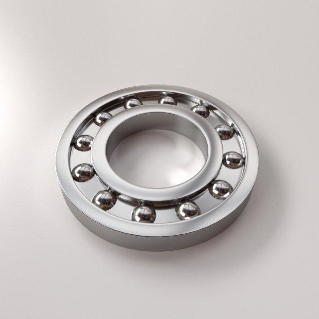 Ball Bearing 3D Model