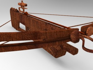 High Poly Sniper Crossbow