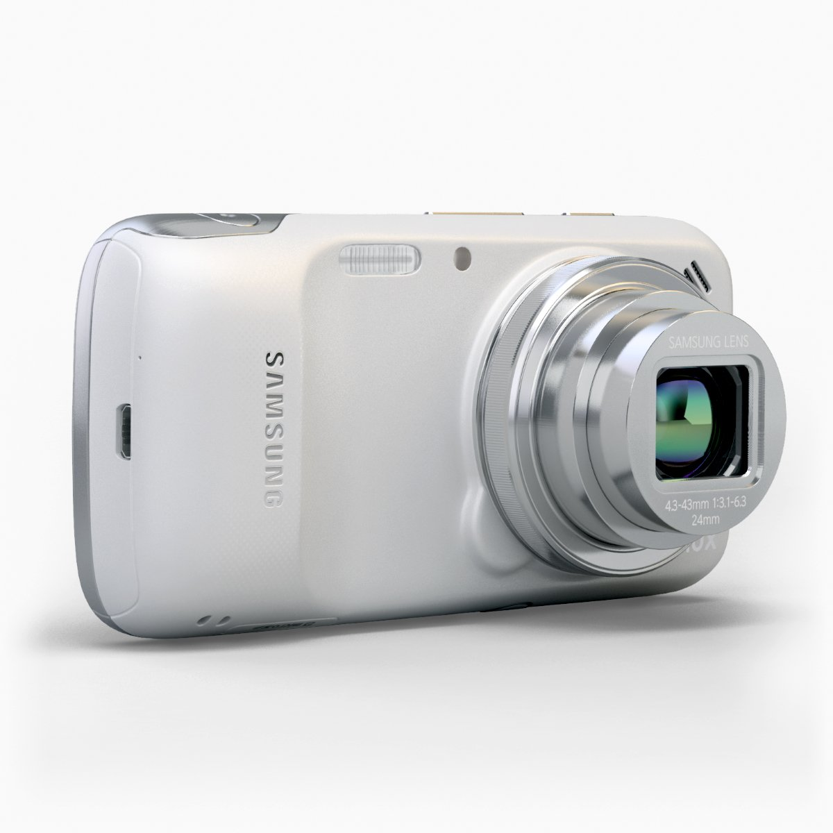 Galaxy S4 Zoom 3d Model In Phone And Cell 3dexport Samsung Black