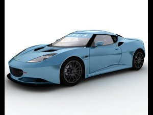Lotus Evora 3D Model. Dimary3. Sport Cars