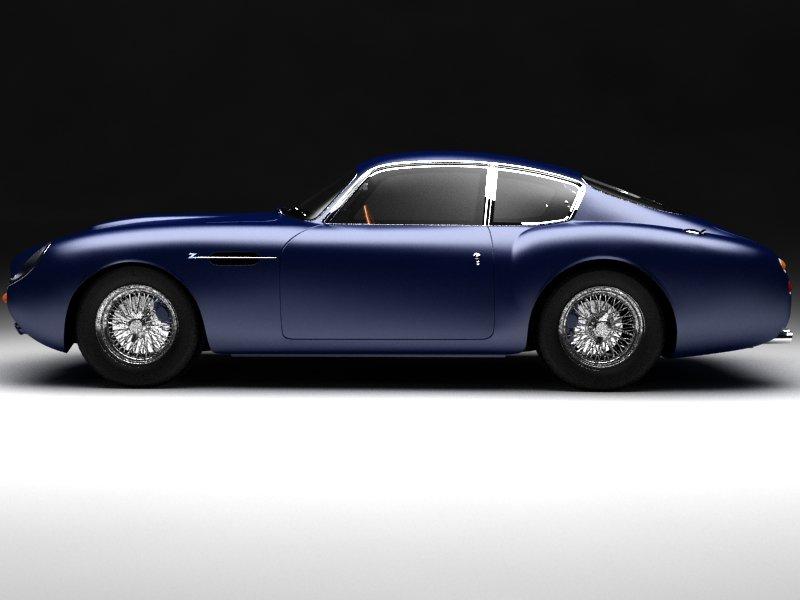 1960 Aston Martin Db4 Gt Zagato 3d Modell In Alte Autos 3dexport