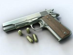 Colt 1911  bullets
