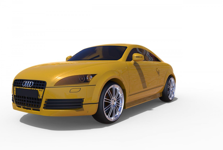 Audi TT D Model In Sport Cars DExport - Audi car 3d games