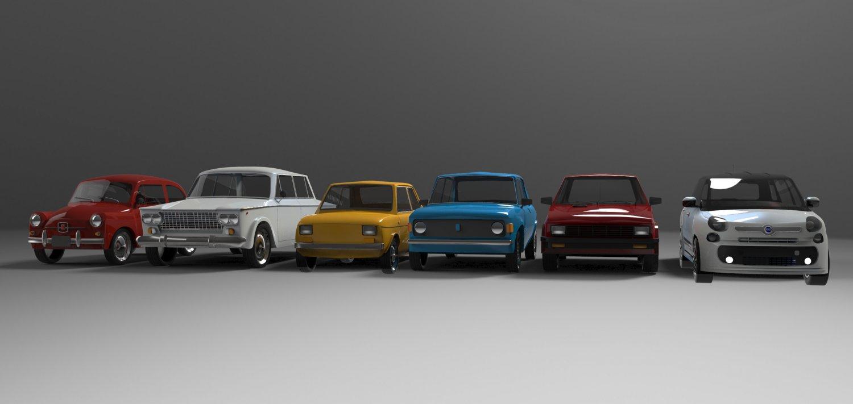 Zastava Cars 3d Model In Classic Cars 3dexport