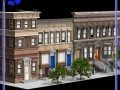 Brownstone Street Scene 1