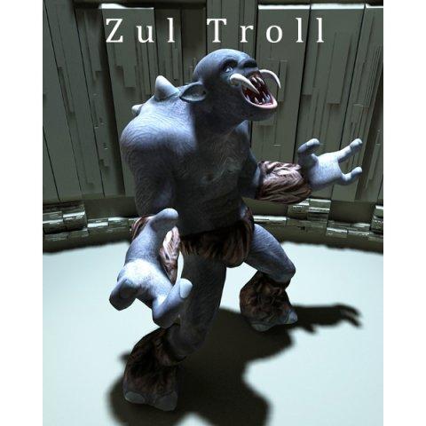 Zul Troll 3D Model