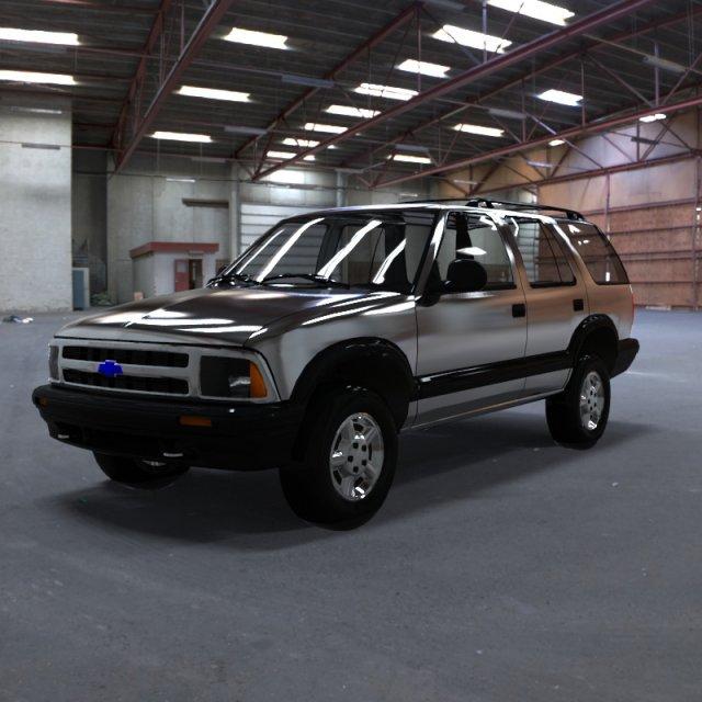 Chevrolet S10 Blazer 1995 3D Model