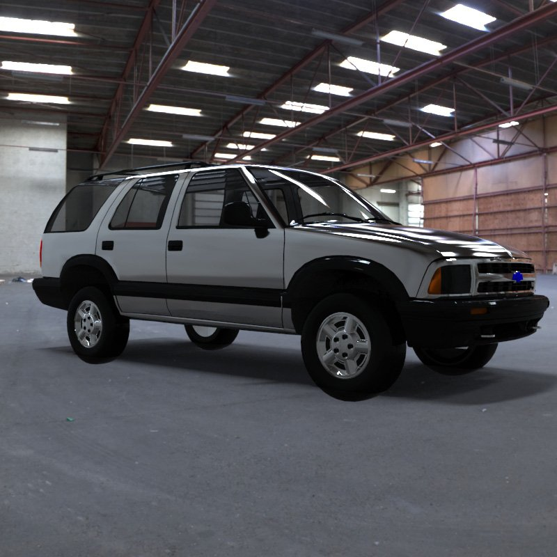 Chevrolet S10 Blazer 1995 3D Model in SUV 3DExport